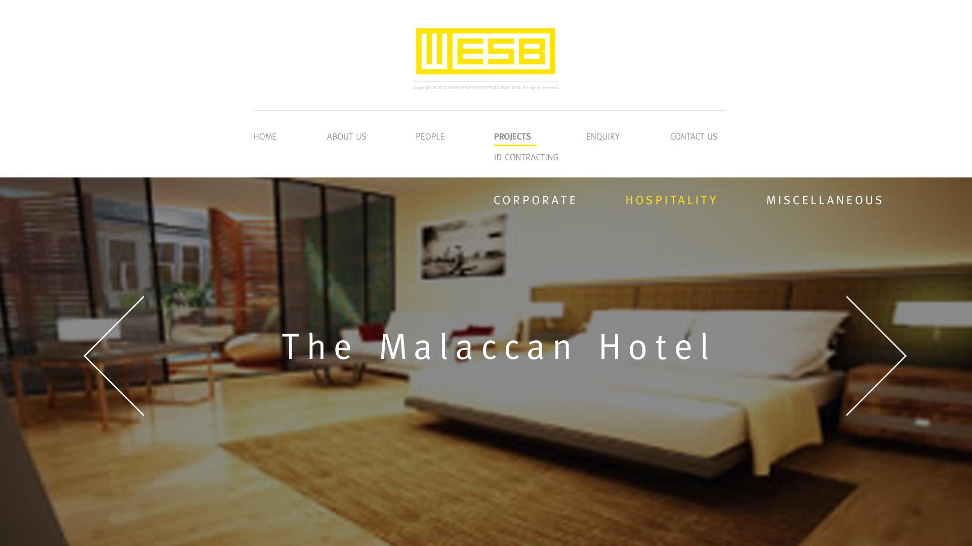 WESB 'CORPORATE WEBSITE'