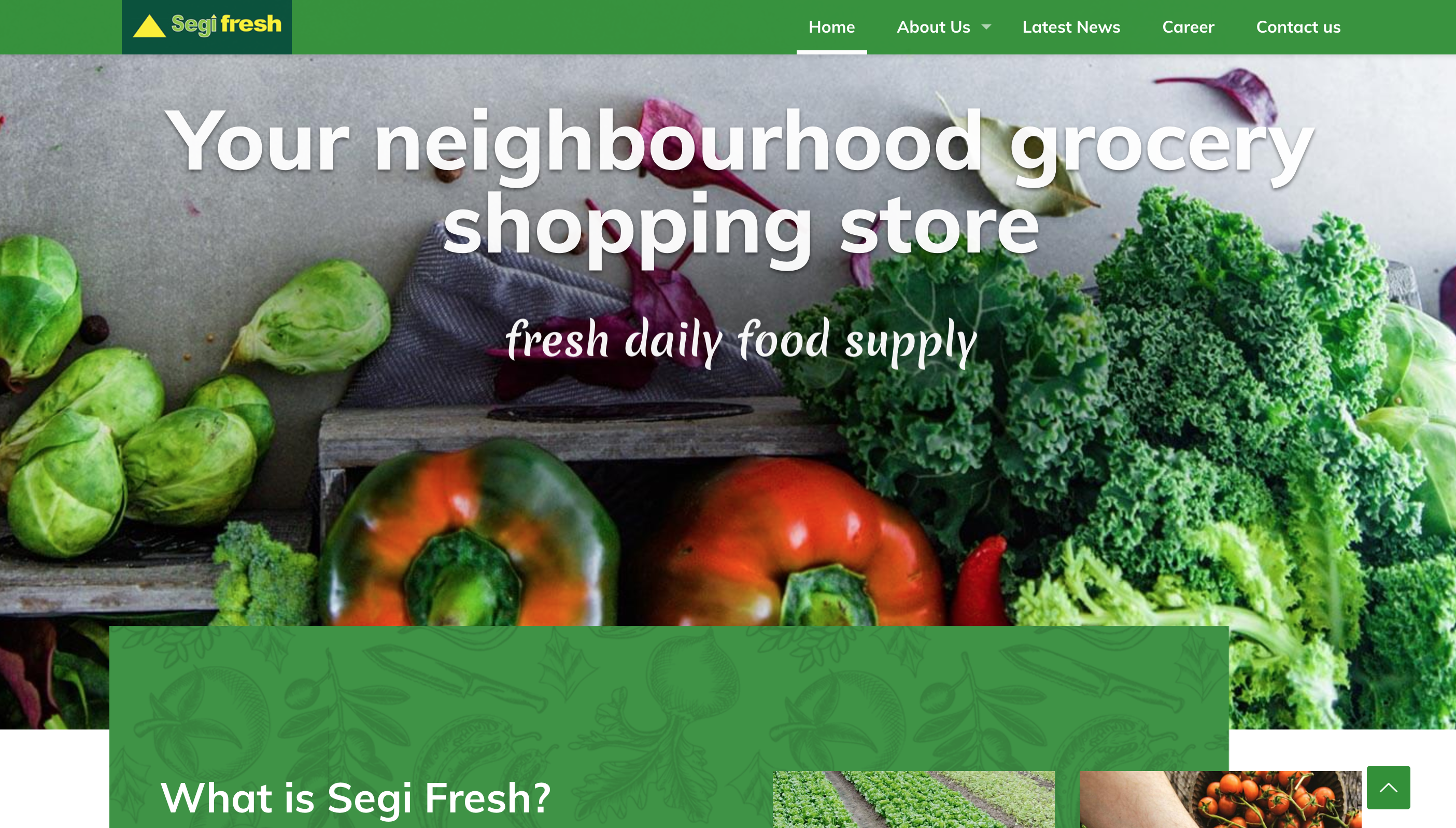 SEGI FRESH 'MOBILE APP'